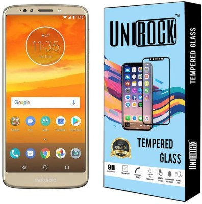 Unirock Tempered Glass Guard for Moto E5 Plus (Fine Gold, 32 GB) (3 GB RAM)(Pack of 1)
