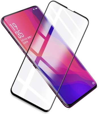 Marshland Tempered Glass Guard for Oppo Find X, 3D Tempered Glass Full Front Body Cover(Pack of 1)