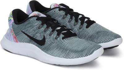 Nike WMNS FLEX 2018 RN PRM Running Shoes For Women(Green, Black) at flipkart