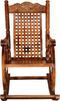 @home by Nilkamal Pronto Solid Wood 1 Seater Rocking Chairs(Finish Color - NA)