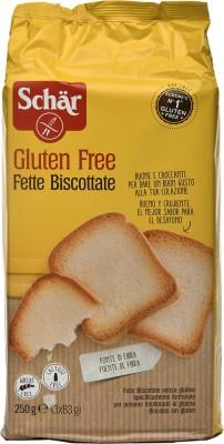 Dr Schar Fette Biscottate Gluten Free Rusk NA flavored Cake Rusk(250 g)