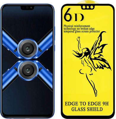 Dgeot Tempered Glass Guard for Honor 8X (Black, 4GB RAM, 64GB Storage)(Pack of 1)