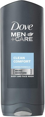 Dove Men+Care Body & Face Wash, Clean Comfort – 250ml