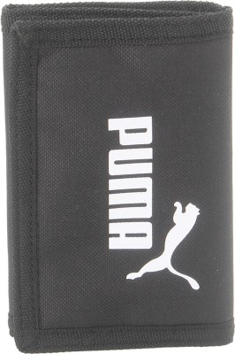 PUMA Men Casual Black, White Fabric Wallet 2 Card Slots PUMA Wallets