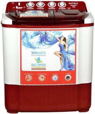 Intex 7.2 kg Semi Automatic Top Load Washing Machine Red(WMSA72DR) (Intex)  Buy Online