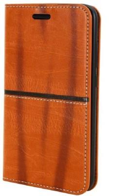 Karirap Flip Cover for Mi Redmi 4A Brown