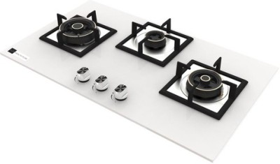 Health Pure elentra Glass Automatic Hob(3 Burners)