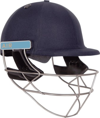 Shrey Masterclass Air Titanium Cricket Helmet(Navy Blue)