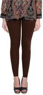 Aditi Fashion Ankle Length  Legging(Dark Blue, Brown, Solid)