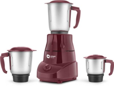 Orient orient_MGBT50C3_BOLT 500 Juicer Mixer Grinder(DARK BROWN, 3 Jars)