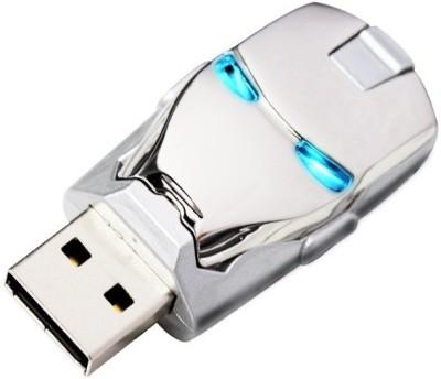 Pankreeti PKT477 Silver Iron Man 16  GB Pen Drive Silver Pankreeti Pen Drives