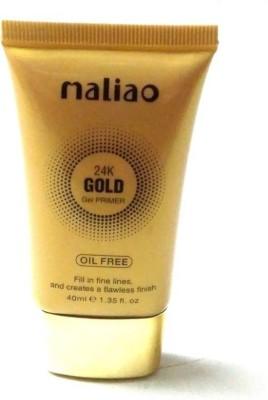 KASCN ORIGINAL HIGH QUALITY MALIAO 24K GOLG GEL PRIMER OIL FREE FOR ALL SKIN TONE (18M63) Primer  - 40 ml(TRANSPARENT)