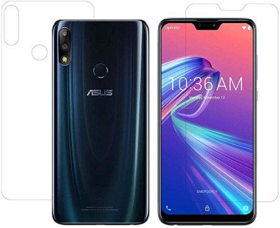 FIRST MART Front and Back Screen Guard for Asus Max Pro M2, Asus Zenfone Max Pro M2