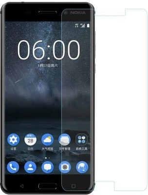 Tempered Glasses Edge To Edge Tempered Glass for Nokia 6.1 Anti Reflection(Pack of 1)