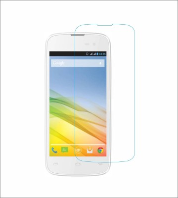 CHAMBU Tempered Glass Guard for Lava Iris 450 Colour(Pack of 1)
