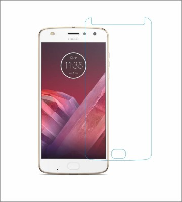 CHAMBU Tempered Glass Guard for Motorola Moto Z2 Play(Pack of 1)