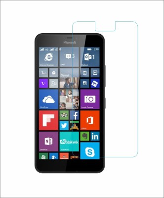 CHAMBU Tempered Glass Guard for Microsoft Lumia 640 Xl Lte Dual Sim(Pack of 1)