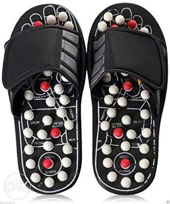 68de4b3f1ec70 TASHKURST Acupoint Massage Slippers Sandal For Feet Acupressure Therapy  Medical Rotating Foot Massager Shoes Unisex Slides