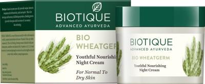 Biotique Wheatgerm Youthful Nourishing Night Cream 50gm