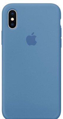GADGETS WRAP Back Cover for Apple iPhone X(Blue, Silicon)