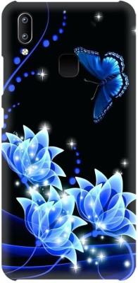 PNBEE Back Cover for Vivo Y95, 1807, Vivo U1, Vivo Y91 -Rose Printed Back Case Cover(Multicolor, Hard Case)
