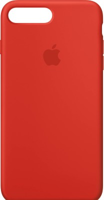 GADGETS WRAP Back Cover for Apple iPhone 7 Plus, Apple iPhone 8 Plus(Red, Silicon)