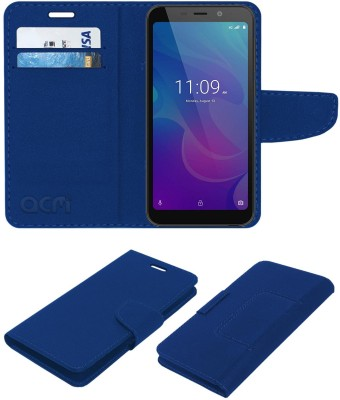 ACM Flip Cover for Meizu C9(Blue, Cases with Holder)