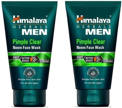 Himalaya Pimple clear neem face wash 100 ml pack of 2 Face Wash(100 ml) at flipkart