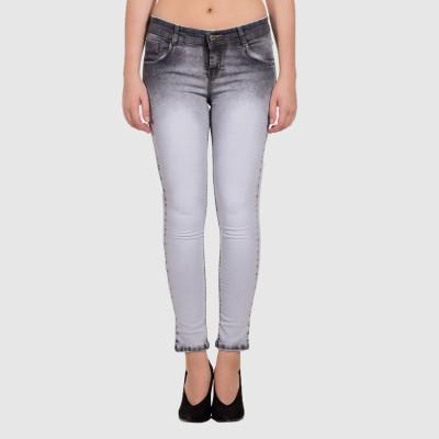 LYKRA Skinny Women Grey Jeans
