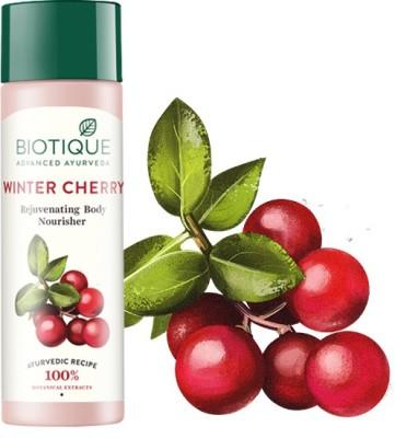 Biotique Bio Winter Cherry Rejuvenating Body Nourisher(190 ml)