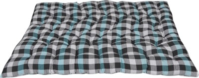 Shree Sugandh SSC 4 inch Double Cotton Mattress(Vacuum Packed)