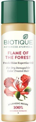 Biotique Bio Flame Of The Forest Fresh Shine Expertise Oil, 120 ML
