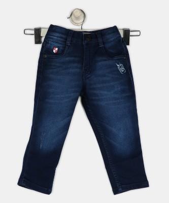 Gini & Jony Slim Baby Boy's Dark Blue Jeans