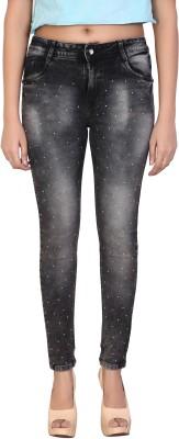 Fck 3 Slim Women Black Jeans Fck 3 Women's Jeans