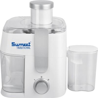 Sumeet Traditional Juice King Watts 400 Juicer(White, 2 Jars)