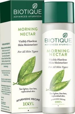BIOTIQUE morning nectar skin moisturizer(120 ml)