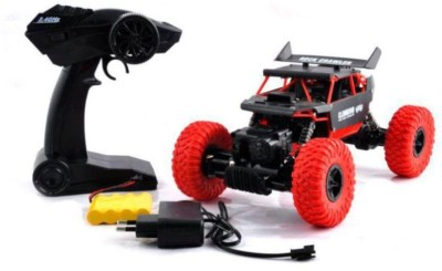 Assemble Everest 4x4 The Rock Climbing Car | 4 Wheel Drive | Off Road Shocks | Terrain Rubber Tires | Wireless controller | Rechargeable |(Multicolor)