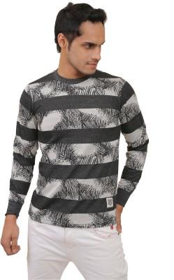The Babbu Maan store Full Sleeve Striped Men & Women Sweatshirt