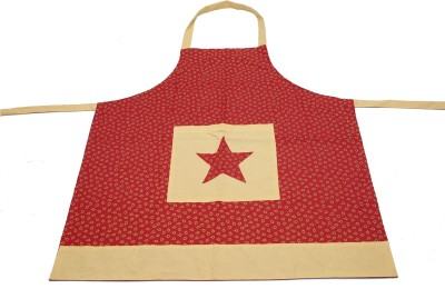 Adt Saral Cotton Chef's Apron   Free Size Multicolor, Single Piece Adt Saral Aprons
