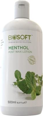 Biosoft Menthol post wax lotion Wax(500 ml)