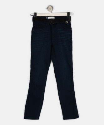 Gini & Jony Slim Baby Boys Dark Blue Jeans