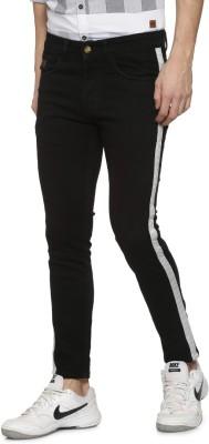Campus Sutra Slim Men Black Jeans