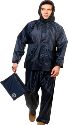 Kihome Solid Men Raincoat
