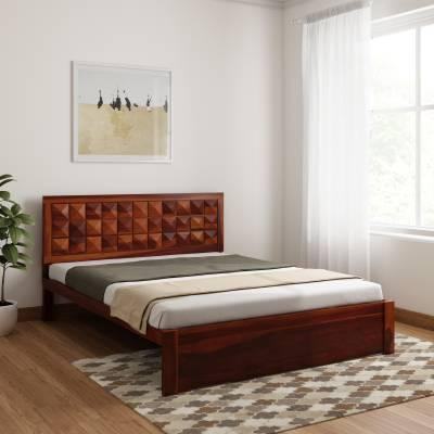 Induscraft Antilia Sheesham Solid Wood Queen Bed