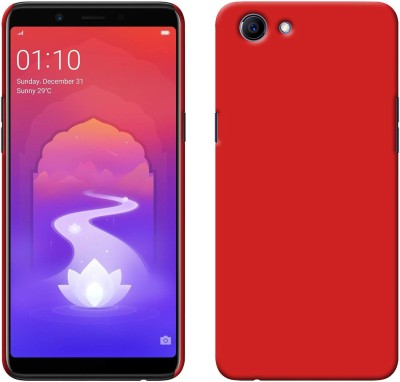 Dgeot Back Cover for RealMe 1 (Diamond Black, 3GB RAM, 32GB Storage)([Ultra-Thin] [Anti-Drop] Premium Material Slim Full Protection [Hard Case] ♥Red♥)