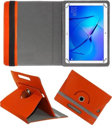 Cutesy Flip Cover for Iberry Bt07 7inch Bt-07 7.0(Orange, Cases with Holder)