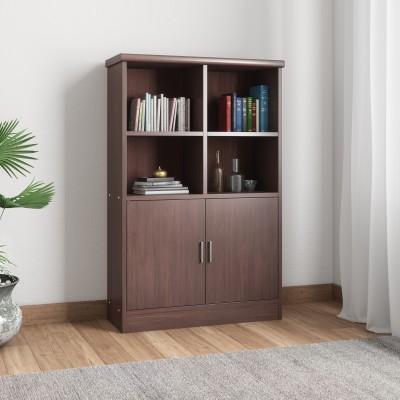 Woodness Ibiza Engineered Wood Almirah(Finish Color - Wenge)