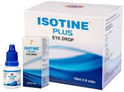 ISOTINE Plus 6vials*10 ml Eye Drops(10 ml)
