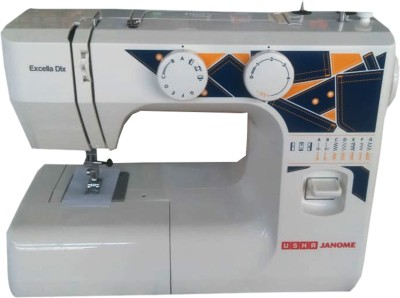 Usha EXCELLA DLX Electric Sewing Machine( Built-in Stitches 2)
