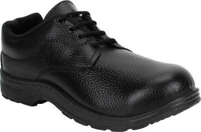 Earton Safety Shoe Boots For Men(Black)